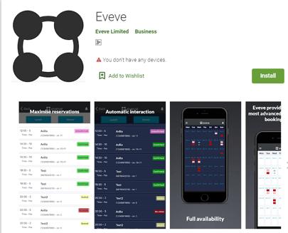 eveve app